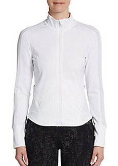 Calvin Klein Performance Illusion Mesh Paneled Active Jacket