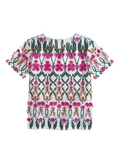 Collection blooming floral top