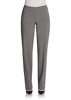 Elie Tahari Theora Stretch-Wool Pants