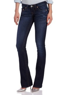 True Religion Women's Tony Microboot Jean in Last Chance