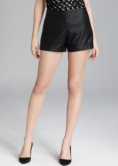 FRENCH CONNECTION Shorts - Cult Connection Faux Leather