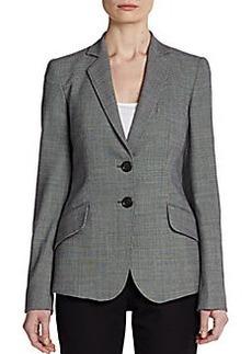 Armani Collezioni Notch Collar Two-Button Jacket
