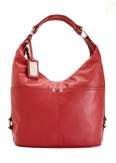 Tignanello Polished Pockets Leather Hobo