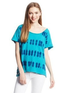 Roxy Juniors Secret Lake Knit Short Sleeve Top