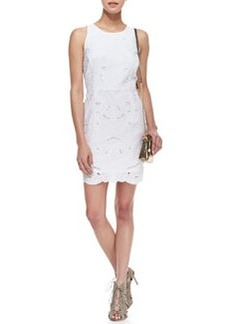 Claudia Embroidered Sleeveless Dress   Claudia Embroidered Sleeveless Dress