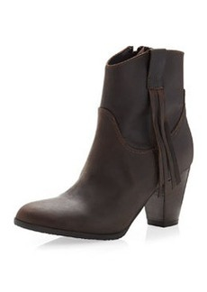 Charles David Fray Tassel Boot, Brown