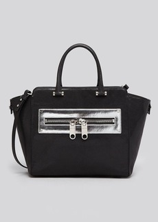 MILLY Tote - Riley Metallic Zipper