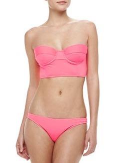 Milly Antique Underwire Bustier Bikini Top
