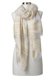 Variegated-stripe scarf