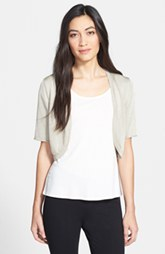 Lafayette 148 New York 'Pure Radiance' Roll Cuff Shrug (Petite) (Petite)