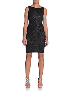 Calvin Klein Shimmery Sheath Dress