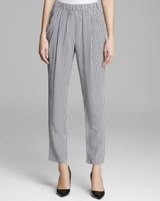 Joan Vass Draped Pocket Pants