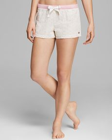 Juicy Couture Terry Eyelet Shorts