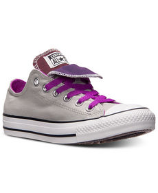 Converse Women's Chuck Taylor Ox Double Tongue Casual Sneakers from Finish Line