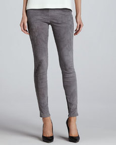 Joie Alisana Cropped Suede Leggings
