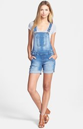 kensie Denim Shortalls (Sweet Risk)