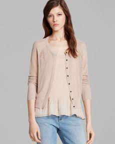 Eileen Fisher Latice Knit Cardigan