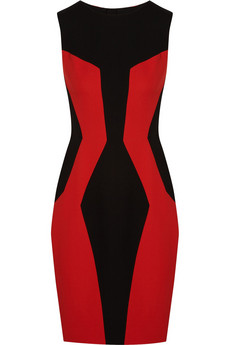 Jason Wu Paneled crepe dress