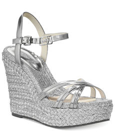 MICHAEL Michael Kors Cicely Ankle Strap Platform Wedge Sandals