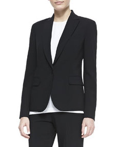 Essential Wool Poplin Jacket   Essential Wool Poplin Jacket