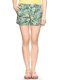 Sunkissed tropical floral shorts