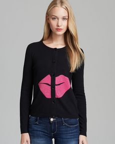 Alice + Olivia Cardigan - Lips