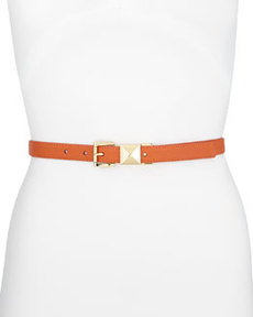 MICHAEL Michael Kors 20mm Pyramid-Stud Belt