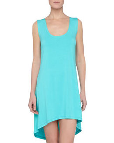 Cosabella Talco High-Low Chemise, Barbados