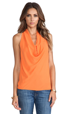 Trina Turk Raissa Top in Orange