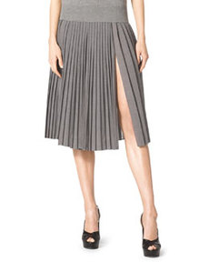 Pleated Wool Skirt   Pleated Wool Skirt