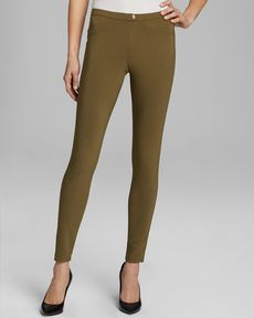 HUE Sleek Stretch Woven Leggings