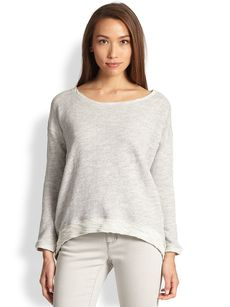 Eileen Fisher Loopy Terry Top