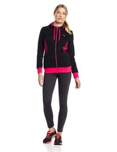 PUMA Women's Animal Print Full Zip Hoody