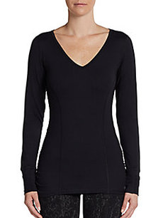 Calvin Klein Performance Mesh Paneled Active Pullover