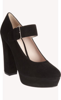 Miu Miu Mary Jane Platform Pump