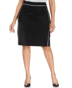 Jones New York Collection Plus Size Lucy Pencil Skirt