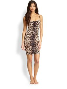 Roberto Cavalli Jaguar Tank Dress