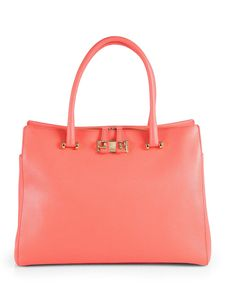 Furla Exclusively for Saks Fifth Avenue Large Zip Mediterranean Tote