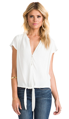 Soft Joie Chally Top in White