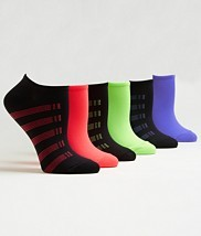 HUE Microfiber Low-Cut Socks 6-Pack