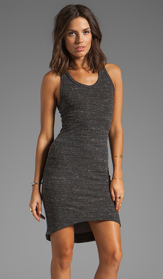 Saint Grace Jo Hi Low Dress in Charcoal