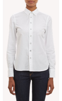 Rag & Bone Poplin Fitted Shirt
