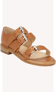 Rag & Bone Hudson Triple-Buckle Sandals