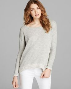 Eileen Fisher Ballet Neck Dolman Sleeve Top