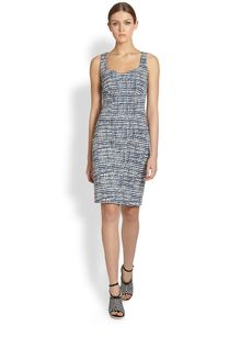 Derek Lam Printed Sheath Dress