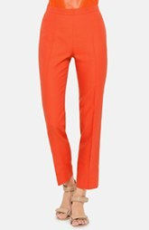 Akris punto 'Franca' Slim Techno Cotton Crop Pants