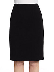 Calvin Klein Collection Stretch-Wool Pencil Skirt