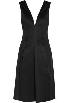 Jil Sander Cotton-sateen dress