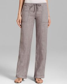 Michael Stars Pants - Galvanized Linen