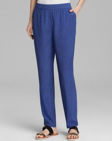 Joie Pants - Exclusive Talina B Medallion Silk
